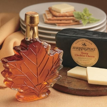 CheesesAged Cheddar & Pure Vermont Maple Syrup