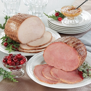 Boneless Ham & Boneless Turkey Breast