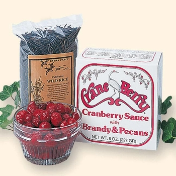 Brandied Cranberries with Pecans