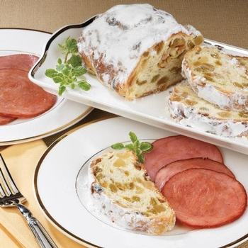 Stollen and Canadian Bacon