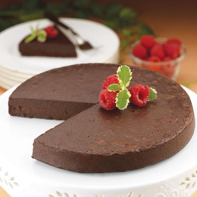 Heavenly Chocolate Truffle Cake