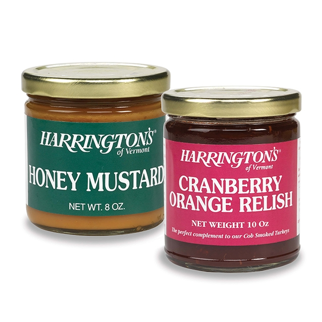 Honey Mustard & Cranberry Orange Relish