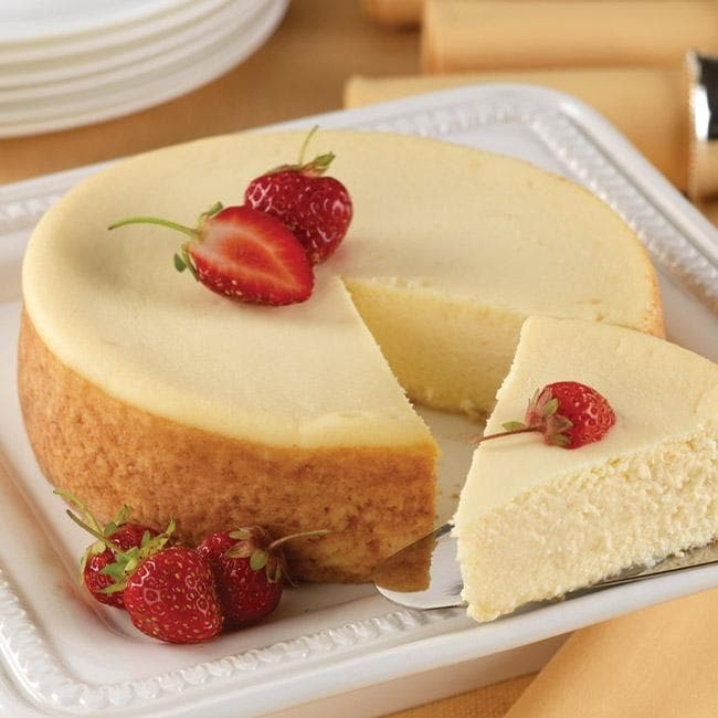 Luscious New York Style Cheesecake