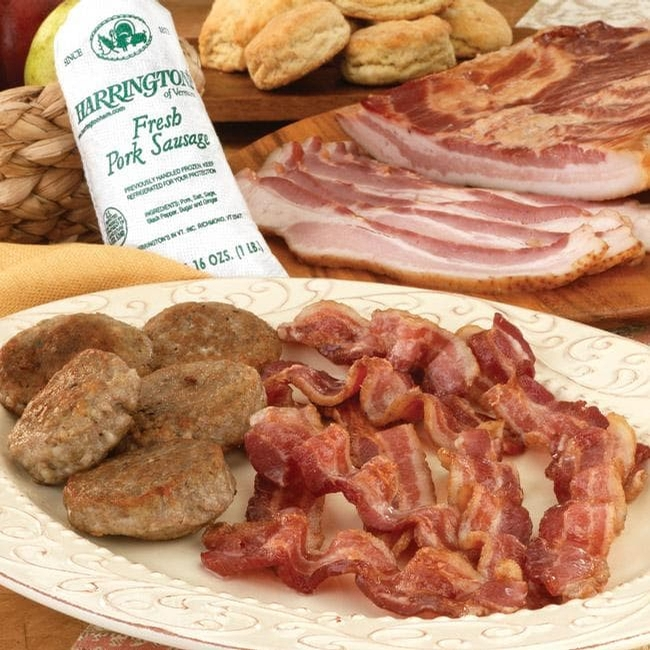 Pork Sausage & Breakfast Bacon Sampler